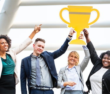 Recognize best upcoming Sales Heroes through awards